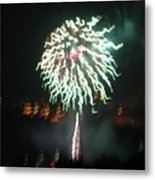 Around The Fourth Fireworks Xv Metal Print