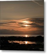 Arran Sunset Metal Print