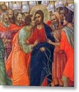 Arrest Of Christ Fragment 1311 Metal Print
