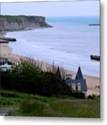 Arromanches-les-bain Metal Print