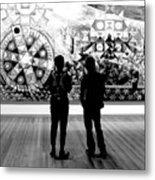 Art Critics Metal Print