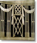 Art Deco Grate 2 Metal Print by Michael Durst