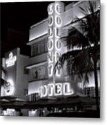 Art Deco Miami Beach Metal Print