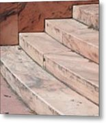 Art Deco Steps Metal Print