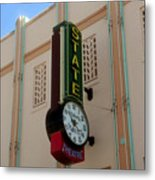 Art Deco Theatre Metal Print