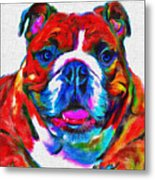 Art Dogportrait Metal Print