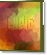 Art For Spring Metal Print