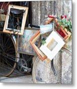Art Gallery Bike Metal Print