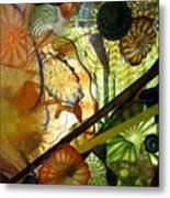 Art Glass Metal Print