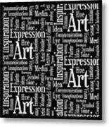 Art Idea Inspiration Metal Print
