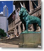 Art Institute Of Chicago Chicago Il Usa Metal Print