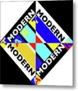 Art Modern Metal Print
