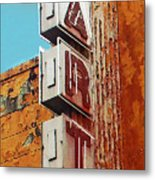Art Of Decay Metal Print