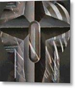 Art Of The Holy Cross Metal Print