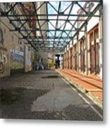 Art Space In Former Power Plant Metal Print