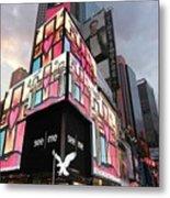 Art Takes Times Square Metal Print