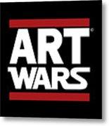 Art Wars Metal Print
