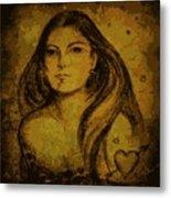 Artemis Who Metal Print
