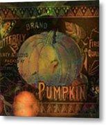 Artful Pumpkins Metal Print