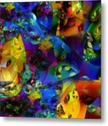 Arthropod Rainbow Metal Print