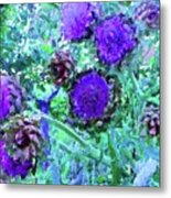 Artichoke Blues Metal Print