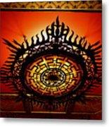 Artificial Sun Metal Print