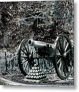 Artillery At Pickettes Charge Metal Print