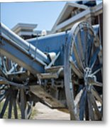 Artillery In Front Of The Armory Metal Print