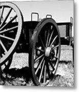 Artillery Wagon Metal Print