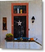 Artisan In Manderscheid Metal Print