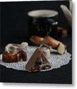 Artisanal Belgian Chocolate Metal Print