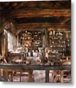 Artist - Potter - The Potters Shop  Metal Print by Mike Savad