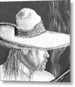 Artist Self Portrait Metal Print