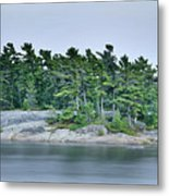 Artistic Granite And Trees  Metal Print