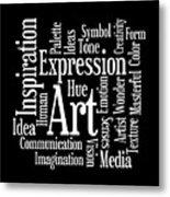 Artistic Inspiration Metal Print