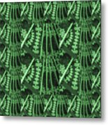 Artistic Sparkle Floral Green Graphic Art Very Elegant One Of A Kind Work That Will Show Great On An Metal Print