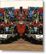 Artistry Abounds Metal Print
