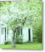Artist's Cottage Metal Print