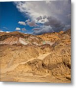 Artists Drive, Death Valley Metal Print