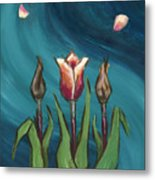 Artists In Bloom Metal Print by Brandy Woods