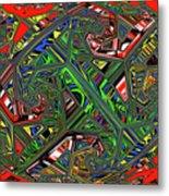 Artwork Ovoid Metal Print