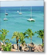 Aruba Shore Metal Print