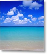 Aruba Sky And Sea Metal Print