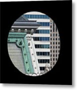 As A Bird Sees Philly Metal Print