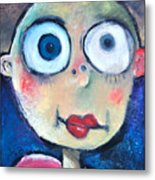 As A Child Metal Print