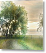 As Days Go By Metal Print