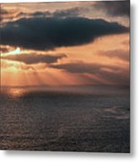 As The Day Ends Metal Print
