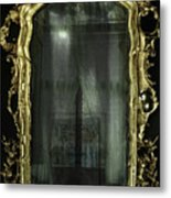 As Through A Glass Darkly  Metal Print
