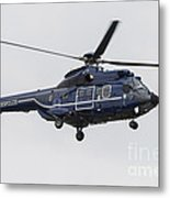 As332 Super Puma Helicopter Metal Print