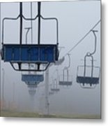 Ascent From The Mist Metal Print